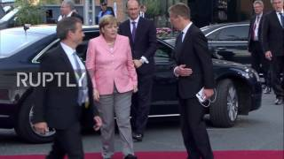 Germany: World leaders and their partners arrive at G20 philharmonic concert