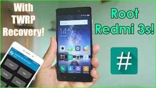 How to Root Redmi 3s/Prime! With TWRP Recovery- NO DATA LOSS