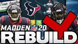 Rebuilding the Houston Texans After The Jadeveon Clowney and Tunsil Trades! Madden 20 Rebuild