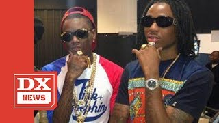 """Quavo From Migos Confirms Soulja Boy Claims About The """"Versace"""" Beat & Says """"He's Speaking Facts"""""""