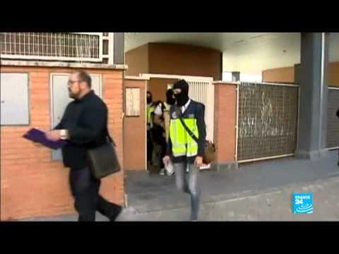 مداهمة خلية جهادية في مدريد