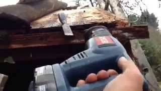 SHED Roof Handyman DIY  TIPS  Repair part 2
