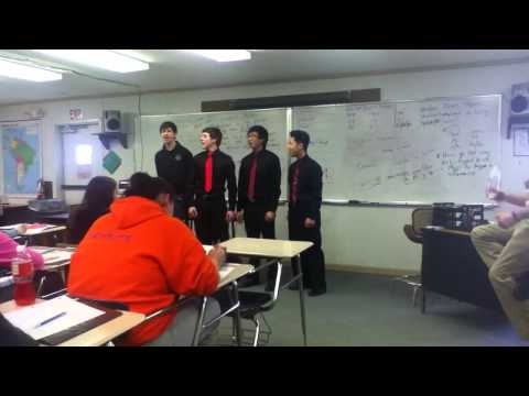 Best Male Quartet Of West Stanly High School