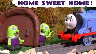 Funny Funlings Home Sweet Home toy story with Thomas Train and Cars McQueen TT4U