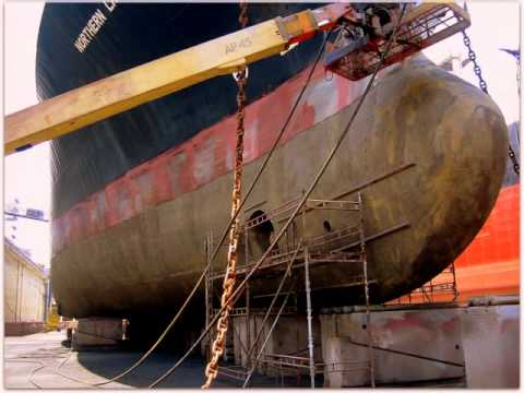 BENE GAS - DRYDOCKING - DUBAI DRYDOCKS - JUNE 2004