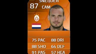 FIFA 14 MOTM SNEIJDER 87 Player Review & In Game Stats Ultimate Team