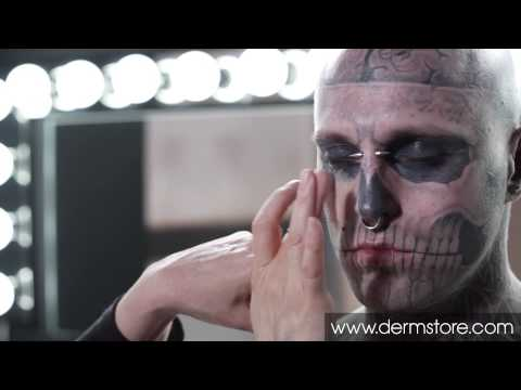 Full arm tattoo cover up wmv how to save money and do for Dermablend tattoo cover up video