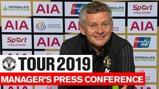 Manchester United | Ole Gunnar Solskjaer Post Match Press Conference | Inter Milan | Tour 2019