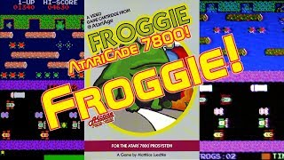 AtariCade 7800! Froggie!