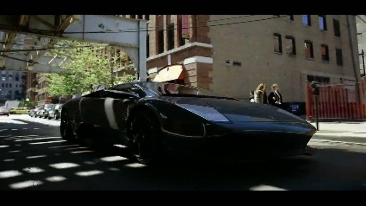 Batman The Dark Knight Murcielago Lp640 Scene Youtube
