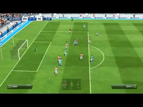 FIFA 13 Game : Arsenal Vs Manchester City