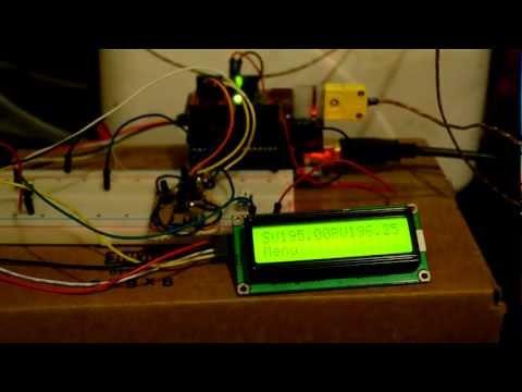 Arduino pid temperature controller