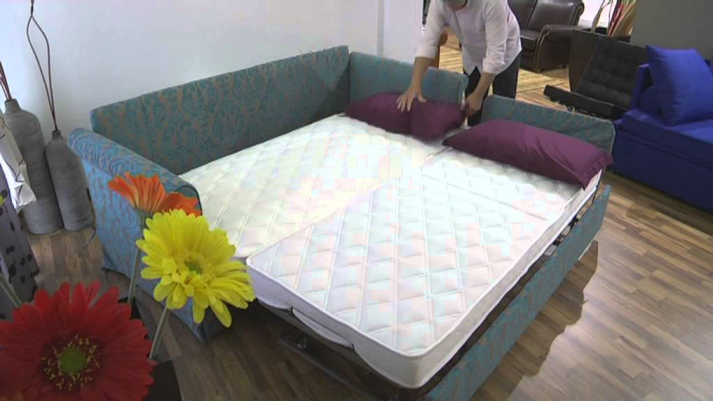 Trundle bed ikea - Sofa Bed Brooklyn Trundle Bed Santambrogio Sofas Youtube