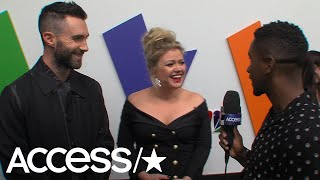 'The Voice's' Kelly Clarkson Reveals What Happened When She Met Steve Carell | Access