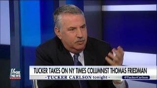 Tucker vs. NY Times' Friedman: Technology the job killer
