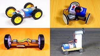 4 Simple Ideas to Make a Toy Car at Home - DIY Cars