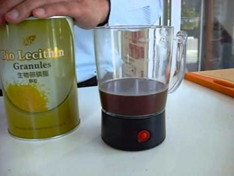 Chocolate Mousse with Bio Lecithin Recipe