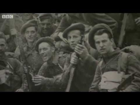 BBC News D Day survivor Brig Sir Nicholas Somerville remembers