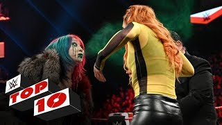Top 10 Raw moments WWE Top 10, Jan. 13, 2020