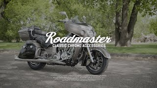 Stylish chrome accessories to enhance your Road Master