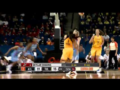 WNBA Debut: Skylar Diggins vs the Atlanta Dream