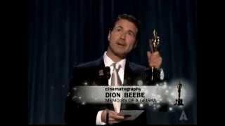Memoirs of a Geisha Wins Cinematography: 2006 Oscars