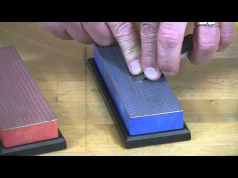 "Video of Maintain a sharp chisel edge with 6"" Diamond Whetstone™ Model"