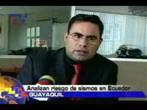 Analizan riesgos de sismos en Ecuador