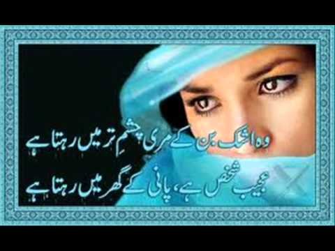 aankh hi na roi hai dil bhi tere pyar me roya hai.wmv
