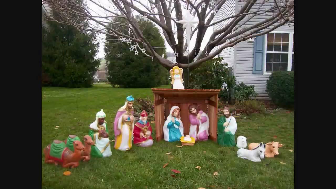 Christmas Manger Set