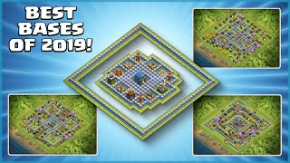 *TOP 10* TH12 BASES OF 2019 - The Years BEST Legend League & War Bases (With Link) - Clash of Clans