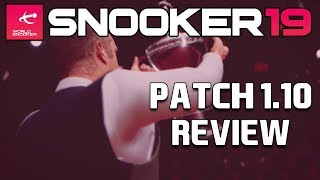 TROPHY PRESENTATIONS!   Snooker 19: Patch 1.10 Review