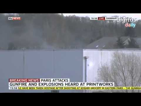 Explosions, Gunfire At Hostage Situation Near Paris, France