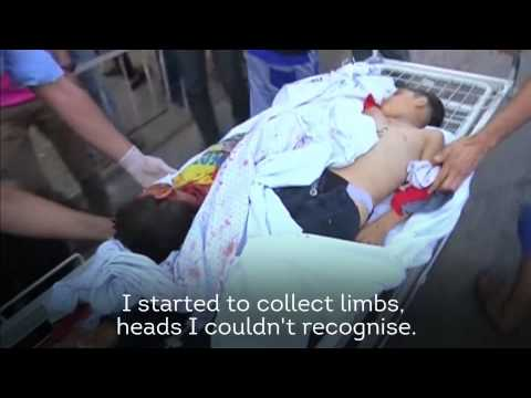 In Gaza - Attacks On A Park, Hospital, And Refugee Camp (Graphic Images)