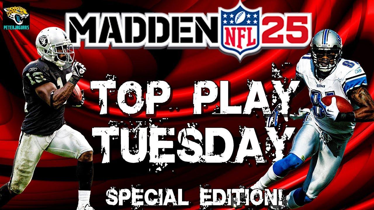 Best option plays madden 25