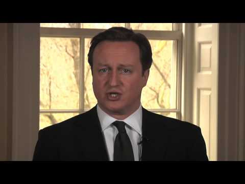 Prime Minister David Cameron on the Somalia Conference