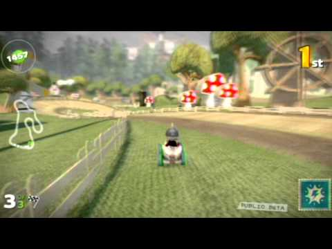 LBP Karting Public Beta - Customização, modos singleplayer e multiplayer
