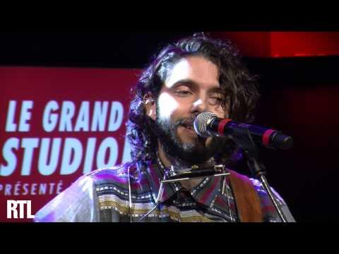 Watch Alexandre Poulin - Hochelaga en live dans le Grand Studio RTL