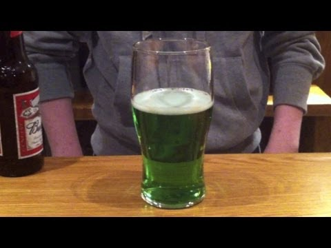 St Patrick Day Green Beer