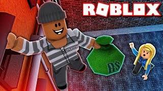 How my first day as a THIEF went in Roblox...