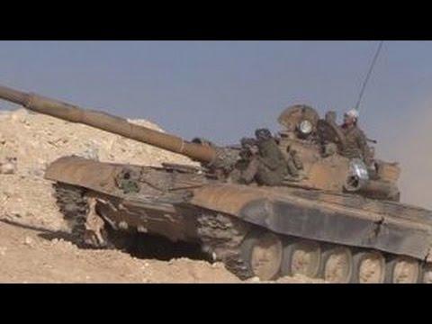 Первые подразделения сирийской армии вошли в Пальмиру