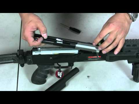HitGuns.com - Airsoft Repair - CM-028 AK47 - Motor and Wiring