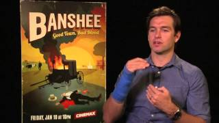 Antony Starr talks to TODAY about 'Banshee'