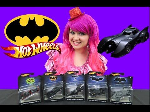 Batman Hot Wheels Batmobile Collection | TOY REVIEW | KiMMi THE CLOWN