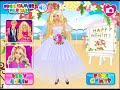 Barbie perfect bride- dress up game