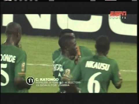 2012 (January 29) Equatorial Guinea 0 -Zambia 1 (African Cup of  Nations)