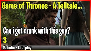 Game of Thrones - A telltale... lets play this story out - Part 3
