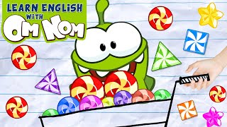 YUMMY CANDY EXPLOSION🍬🍭🍡 | Learn Colors Videos for Kids | Learning Cartoons by Om Nom!