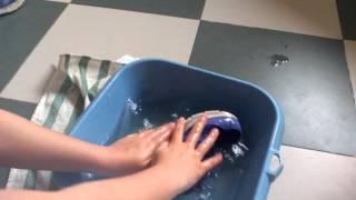 No sabes lavar tus deportivas? Pues aquí tienes como lavar tus zapatillas