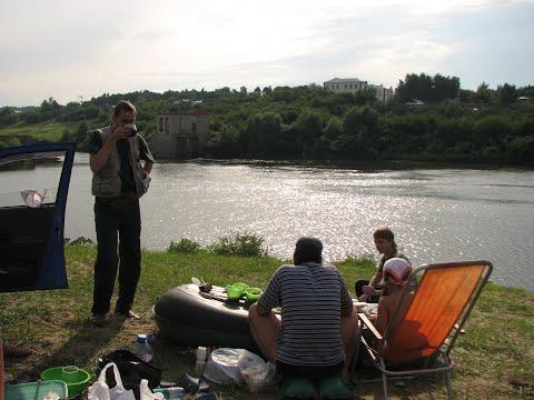 видео рыбалка омут